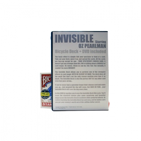 Invisible by Oz Pearlman (inkl. Invisible Deck)