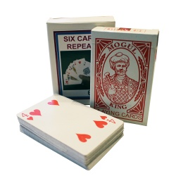 Six Cards Repeat by Mr. Magic, Comedy Karten-Vermehrung