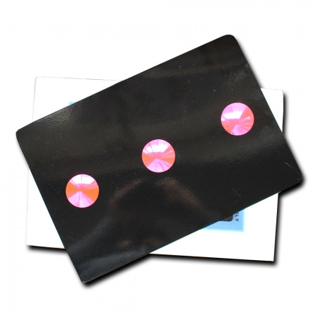 Magnetic Pip Card Black (Punkte-Karte)