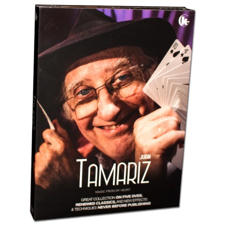 Magic From My Heart by Juan Tamariz - 5 DVD Set