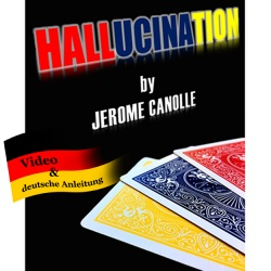 The Hallucination Deck by Jerome Canolle (Color changing...