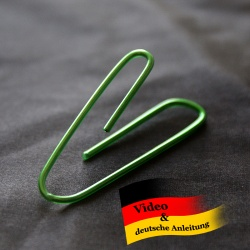 Self-Bending Paperclip