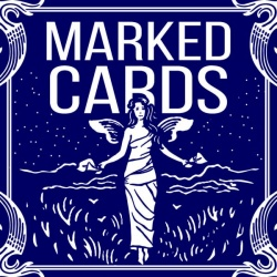 Marked Deck, Markierte Karten (Bicycle Maiden Back) Blau