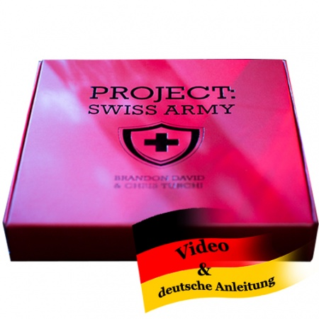 Project: SWISS ARMY by Brandon David and Chris Turchi