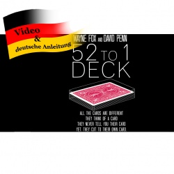 The 52 to 1 Deck by Wayne Fox