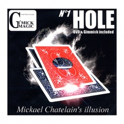 Hole, by Mickael Chatelain, Gimmick & DVD, Sprache: englisch