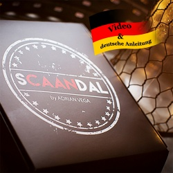 SCAANDAL by Adrian Vega - Card At Any Number