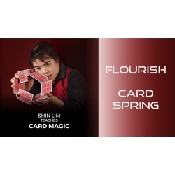 Card Spring Flourish by Shin Lim (Single Trick) video...