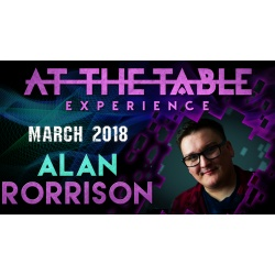 At The Table Live Lecture 2 Alan Rorrison March 7th 2018...