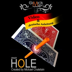 Crazy Hole - A Moving Hole Effect by Mickael Chatelain