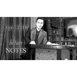 April 2018 Lecture Notes by Sandro Loporcaro (Amazo)...