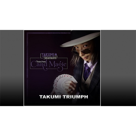Takumi Takahashi Teaches Card Magic - Takumis Triumph video DOWNLOAD
