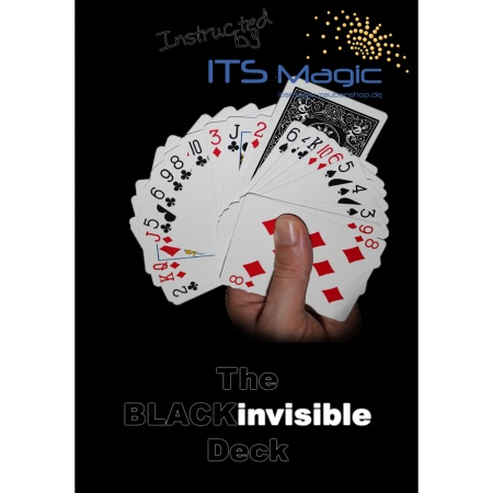 Invisible Deck, Bicycle BLACK Rider Back