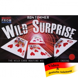 Wild Surprise by Ron Timmer - A New Wild Card Routine