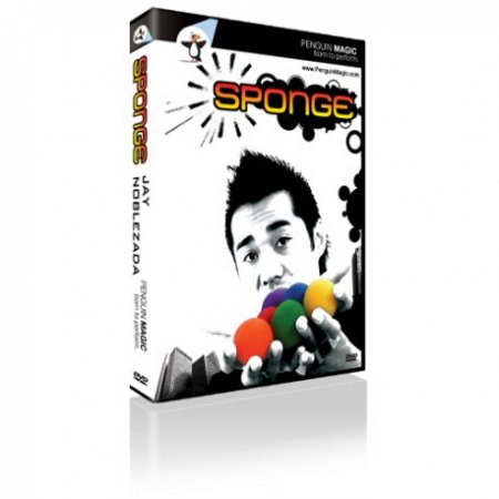 Sponge by Jay Noblezada, Sponge Ball Magic DVD inkl. Sponge Balls