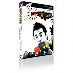 Sponge by Jay Noblezada, Sponge Ball Magic DVD inkl....