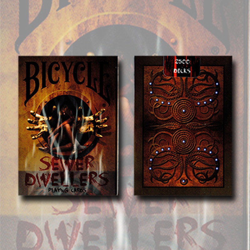 Bicycle Sewer Dwellers - Limited Edition: Nur 2500 Decks - Zaubertrick Zauberartikel Zaubertricks