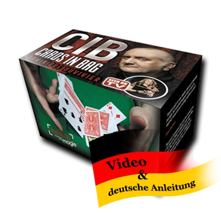 CIB - Cards in Bag by Dominique Duvivier (Fooled Penn & Teller)
