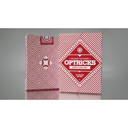 Mechanic Optricks Deck Red Edition & VISUALIES Gaff Sytem...