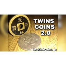 TWINS COINS 2.0 by Roby El Mago video DOWNLOAD